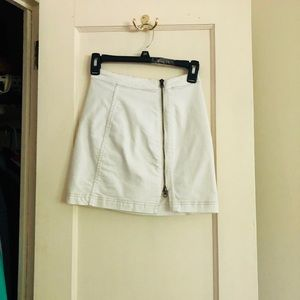 Free People Side Zip Modern Femme Skirt